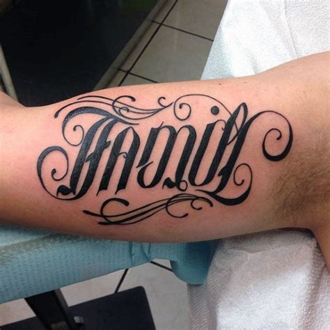 family tattoo ideas for men the word family ideas for www pixshark