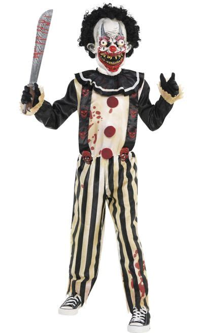 boys slasher clown costume party city