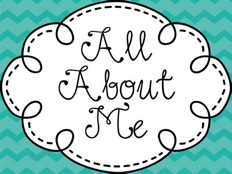 About All about me