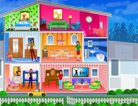 doll house games free online doll deco games online