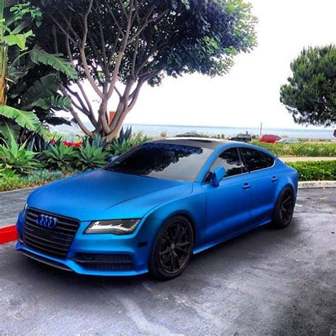 car picker blue audi a7