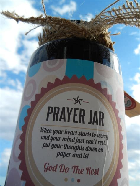 365 Prayers In A Jar Search Pinteres - prayer jar when your starts to worry and your