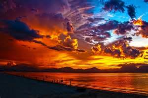 colorful sunset rich colorful sunset pictures photos and images for