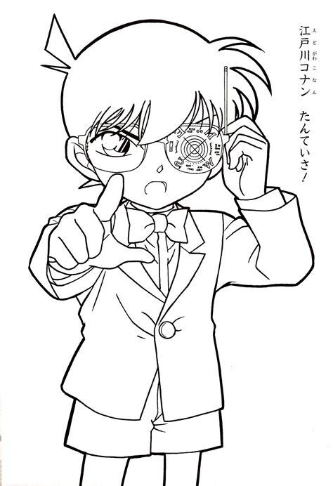 Coloring Book Detective Conan Detective Conan Coloring Pages