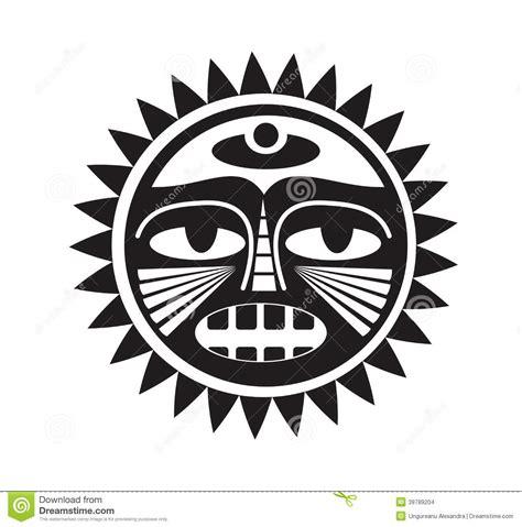 beautiful polynesian style tattoo stock vector image
