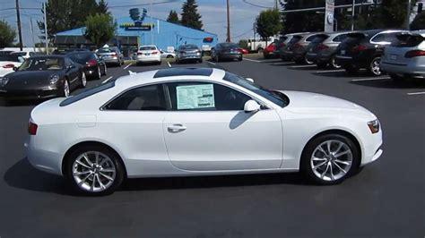 Audi A5 2014 White by 2014 Audi A5 Glacier White Stock 109430