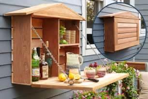 Outdoor Bar Cabinet Wall Banger Liquor Cabinets Home Bar Has Fold