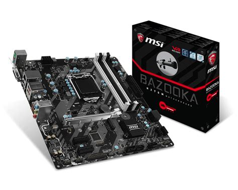 Msi H270m Bazooka overview for h270m bazooka motherboard the world