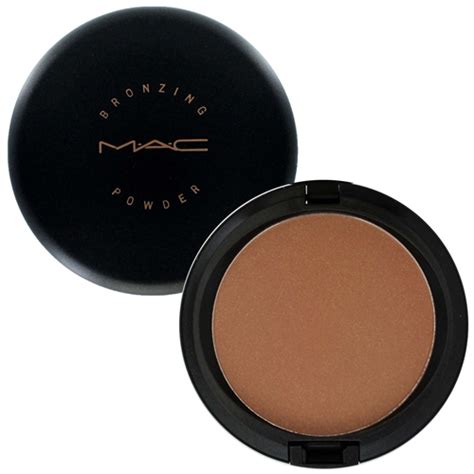 Mac Bronzer Finishing Shimmer Powder 1 product series bronzers point of view