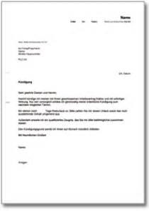 Musterbrief Fristlose Kündigung 7 Arbeitnehmer K 252 Ndigung Vorlage Bewerbungsschreiben