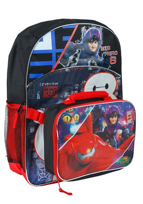 Great Baymax Lunch Bag 2 big 6 backpack and lunch bag