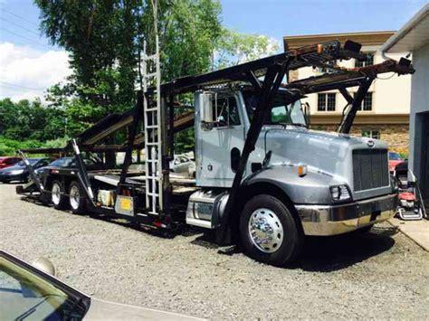 car carrier truck peterbilt 330 5 car hauler 5 car carrier 2000 wreckers