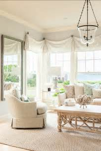 home window treatments coastal home with neutral interiors home bunch