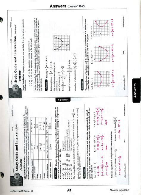 2 Worksheet Answers by Mrscabral Algebra 2 Worksheet Answers
