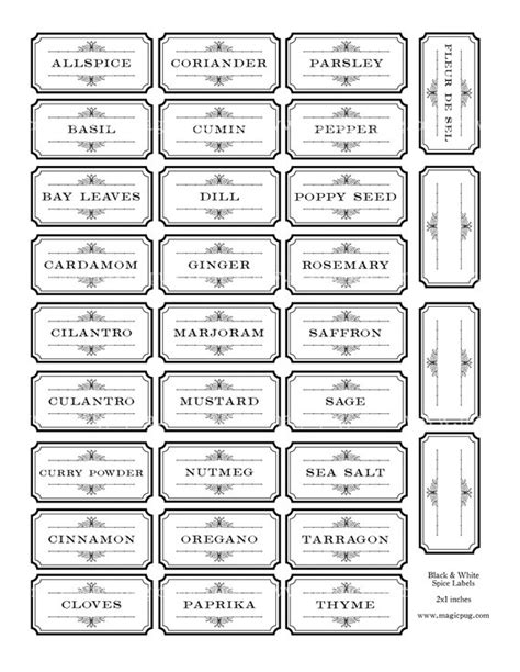 spice label templates best 25 spice labels ideas on spice jar