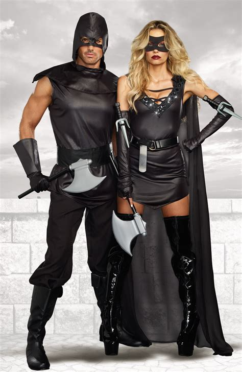 female assassin halloween costume