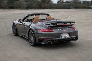 Porsche Socal 2017 Porsche 911 Turbo Cabriolet Test The Ultimate