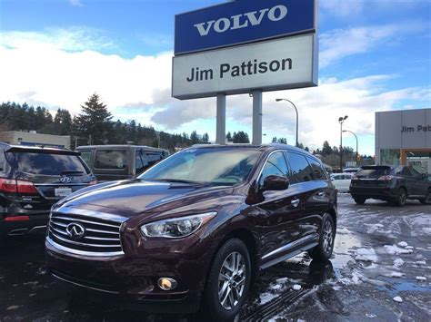 jim pattison volvo of vancouver used 2014 infiniti qx60 awd premium package for sale