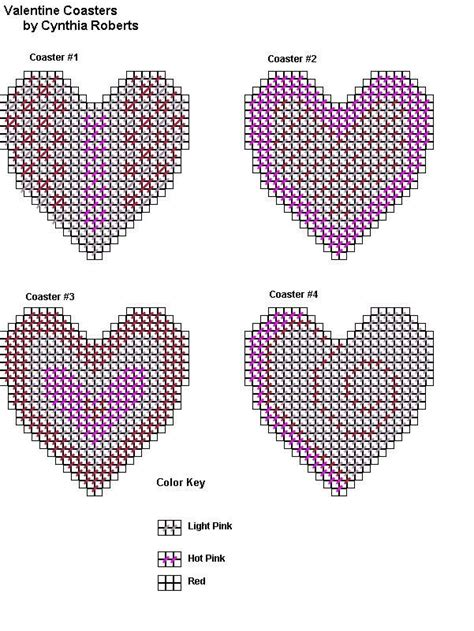 heart pattern plastic canvas 490 best images about plastic canvas hearts valentine s on