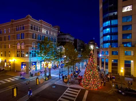 christmas lights memphis tn holiday events in downtown memphis 2017