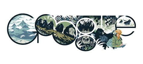 doodle dian dian fossey et ses gorilles en doodle weblife