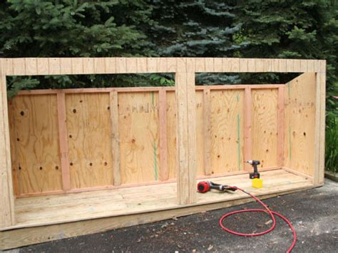 Outdoor Garbage Shed by Build A Trash Shed Hgtv