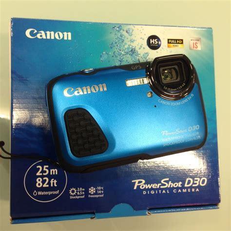 Kamera Canon Powershot D30 canon powershot d30 digital outdoor kamera