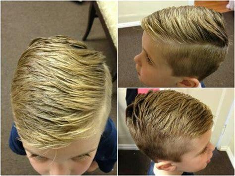 little boy hard part cut boys hipster fade haircut hard part ciao bella spa