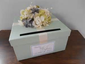 card box for wedding reception items similar to wedding card box mint green wedding
