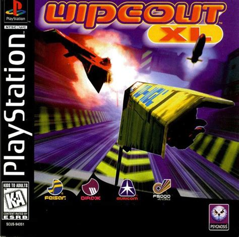 Play WipEout XL Sony PlayStation online   Play retro games