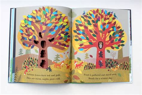 tree seasons come seasons tree seasons come seasons go books with pretty pictures graphic design books