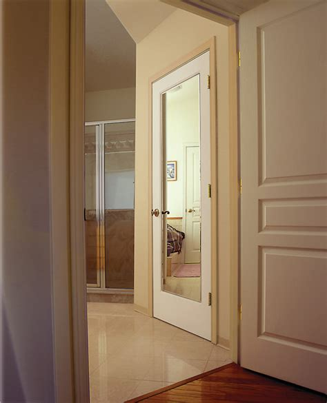bathroom mirror doors reflections mirror decorative glass interior door