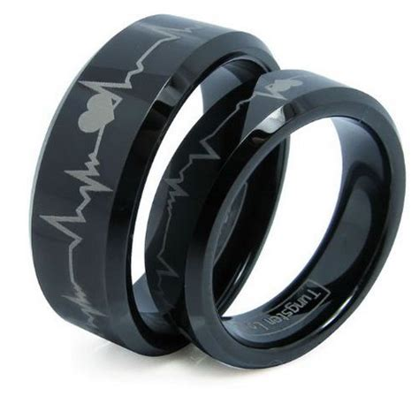 Wedding Bands Black by Black Wedding Rings For And Unique Black Wedding