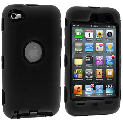 Soft Ipod Touch 4 deluxe color black soft cover for ipod touch 4 4g 4th protector ebay