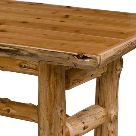 Cedar Dining Table Deluxe Cedar Log Dining Table Minnesota Log Furniture
