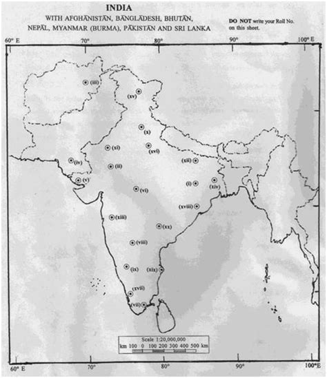 america map for upsc ias 2013 history question paper i