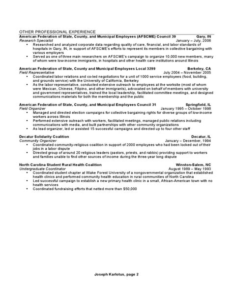chronological format resume sle chronological resume sle format free