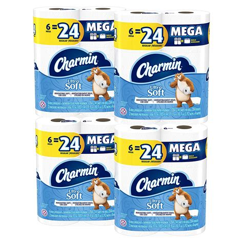 toilet paper 24 pack price charmin ultra soft toilet paper 24 pack for 20 65