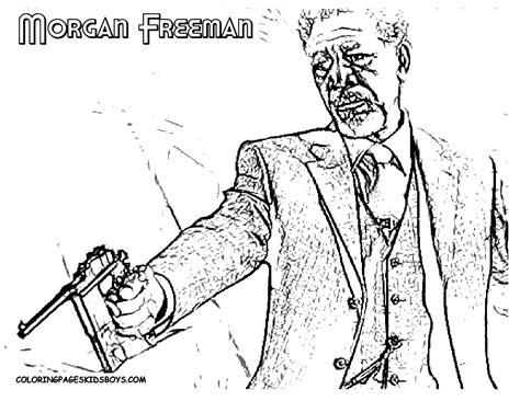 coloring pages of the name morgan famous star hollywood coloring de niro eastwood redford