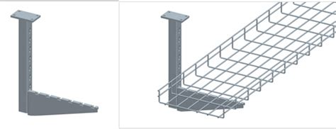 Ceiling Wire Tray Ceiling Mounting Solutions For Wire Mesh Cable Trays
