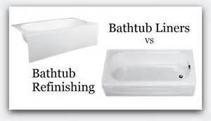 bathtub liners bathtub refinishing and bathtubs on