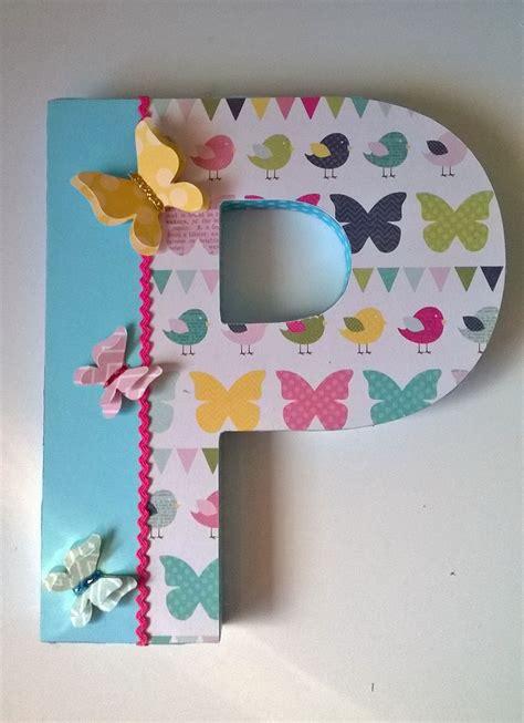 letras decoradas a letras decoradas altered letter scrapbook scrap