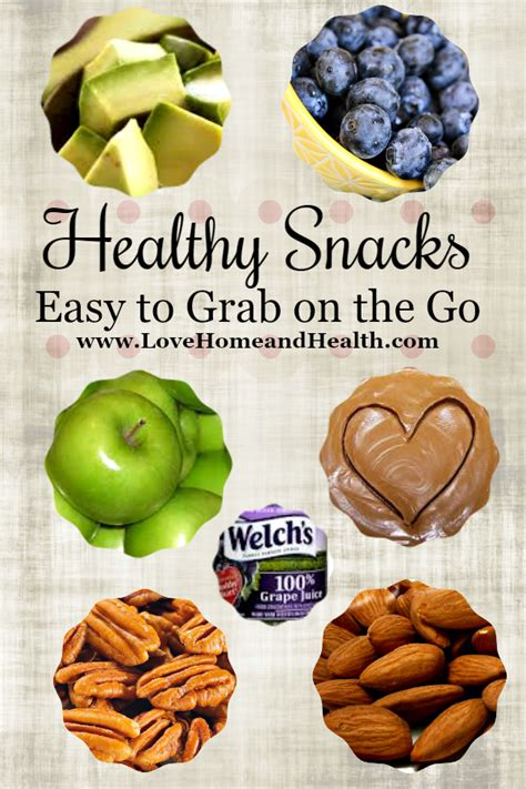 on the go healthy snacks easy to grab on the go home and