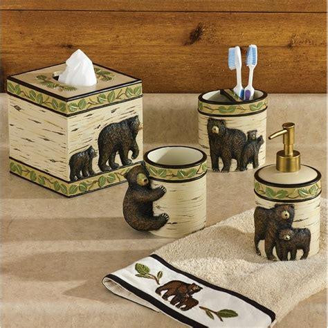 bear bathroom black bear bath accessories
