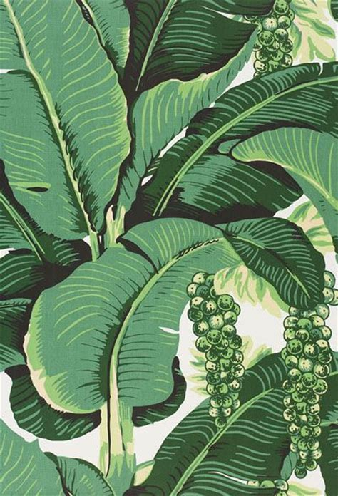 bananas leaf wallpaper the glam pad our banana leaf dining room