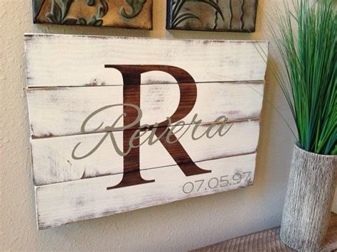 Skyrim Sign Wood Pallet reclaimed distressed pallet wood family name personalized sign anniversary wedding valentines