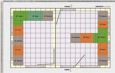 small commercial kitchen layout exle help use excel as an architectural design tool tips
