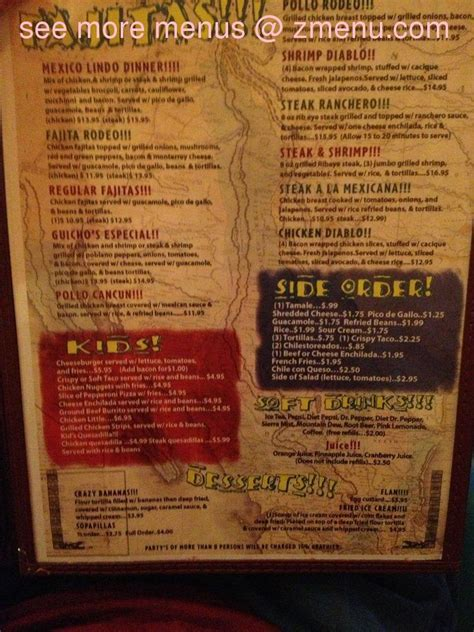 Louisiana House by Online Menu Of Mexico Lindo Of Leesville Restaurant