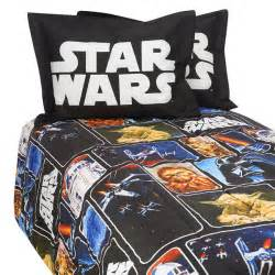 This star wars comforter is perfect for the bed of any star wars fan