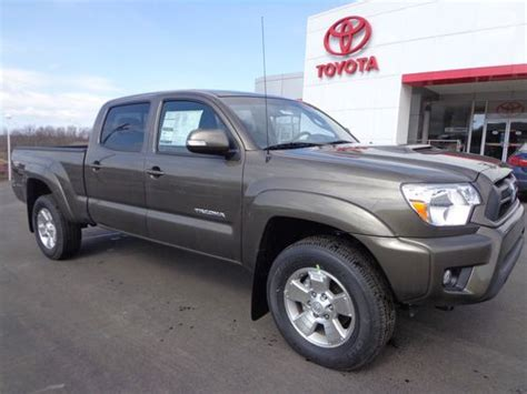 toyota tacoma long bed for sale buy new all new 2013 tacoma double cab long bed 4x4 4 0l